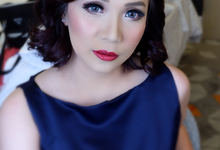 Sister of The Bride (Mrs. Irene Trisna) by makeupbyyobel