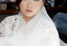 Bride Makeup for Mrs. Sintia Veranti by makeupbyyobel