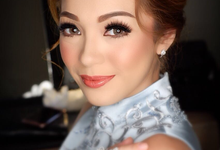 Makeup for Mrs. Maya Septha by makeupbyyobel