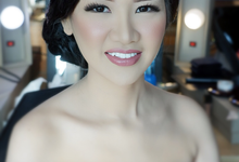 Makeup for Sisters of the Bride by makeupbyyobel