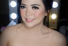 Makeup for sister ( Mrs. Ria) by makeupbyyobel