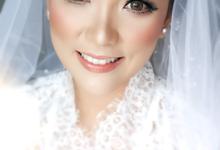 The Wedding of Dency & Danisa by makeupbyyobel