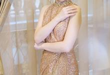 Makeup & Hairdo Engagement for Ms. Inge Hiunata by makeupbyyobel