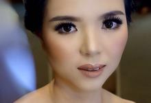 Makeup & Hairdo Sister of the Bride (Ms. Lidyana) by makeupbyyobel