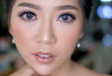 Makeup & Hairdo Engagement for Ms. Cynthia  by makeupbyyobel