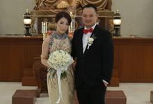 The Wedding of Natalya Hokano by makeupbyyobel
