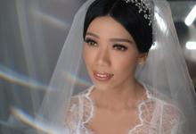 Wedding Makeup for Mrs. Yuliana by makeupbyyobel