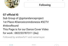 G7 Official IG by GOTAN Dance Project