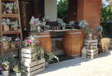 Sunset Garden Party by d'Oasis Florist & Decoration