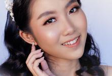Bride Makeup for Ms Hudha by Yuka Makeup Artist