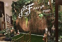 Backdrop - Wedding by Yulika Florist & Decor