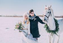 Wedding In Gzhel Style by Marina Nazarova Photographer