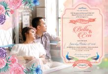 Bella & Ecis Wedding INVIT by Port of Tasya