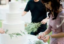 Max Melissa Wedding by Blessing Angel Pastries