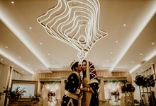 Zanita & Ugrasena Wedding Reception at The Allwynn by AKSA Creative