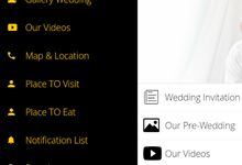 Zatria & Indira Wedding by Wedding Apps