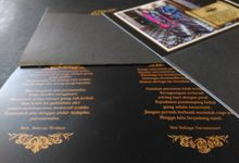 Ikhwan - Rini (Black/gold Invitation) by Elderco.id