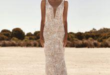 Platinum Gown - Desert Rose by Alissha Bride