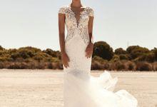Platinum Gown - Desert Rose 2 by Alissha Bride