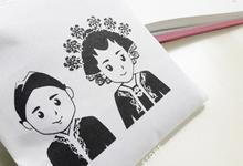 Kirana & Arie ~ Folding bags by ZEITGEIST