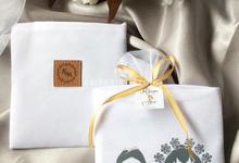 Folding bag custom print for Kirana&Arie by ZEITGEIST