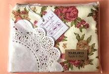 Syifa & Sandy medium pouch 16x12  by ZEITGEIST