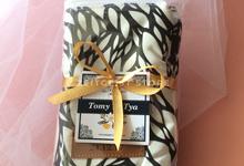 Tomy & Tya Swing Pouch Leaf Pattern by ZEITGEIST