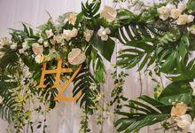 Zella & Handria's Engagement by Kreasae