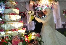 The Wedding Of Amal & Romzi by Uci Bakery