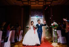 Tying the knot - Zheng Hua & Agnes by Depth of Tales
