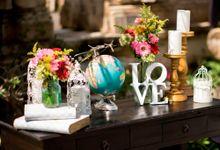 Colorful Wedding Decorations by d'Oasis Florist & Decoration