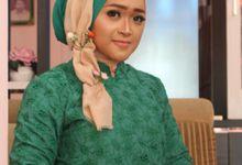 Engagement Make Up by Fame Make Up Hijab
