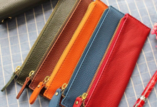 Pencil case PU / Genuine Leather by Zilia Leather