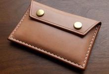 Souvenir Cardholder PU / Genuine Leather by Zilia Leather