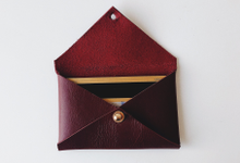 Envelope Cardholder PU / Genuine Leather by Zilia Leather