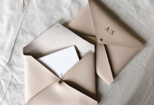 Envelope Pouch size A5 (PU & Leather) by Zilia Leather