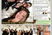 The WEDDING Nicholas & Khamelia 15 Januari 2017 by Luve WO