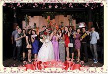 The Wedding Of Irfandi & Leony by Indigo Photobooth