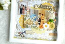 Scrapbook in Frame by Cin's Scrapworks