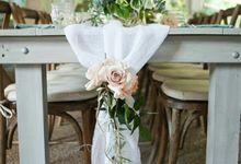 Dining Floral Arrangement by Dorcas Floral