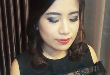 Make Up For Ms. Jassica Fams. Hairdo By Noey Studi by Victoria Chang Makeup Artist