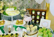 Vintage Wedding Dessert Table by Yoyosummer
