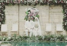 Wedding of Dina & Adit by Azila Villa