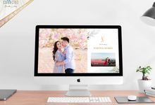 A luxury wedding reception in Bandung, using advanced technology to send digital invitation, took RSVP confirmation easily, put guests into table area by Connectied Virtual Wedding