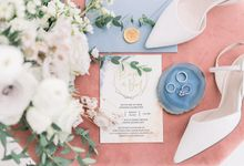 An intimate pastel wedding by Foreveryday Photography