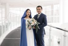 One of my Favorite Wedding Concept, Mother Mary Wedding Gown by Le Clemmie by Amelia