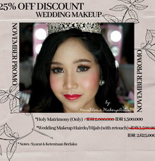 NOVEMBER PROMO by Hana Gloria MUA