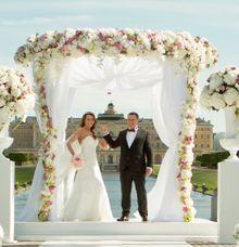 Wedding in the Konstantinovsky Palace by Grand Premier