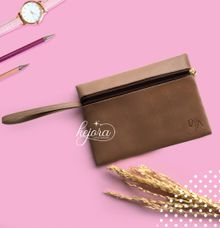 Pouch Top Zipper with Handle by Kejora Gift & Souvenir