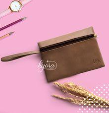 Pouch Top Zipper with Handle by Kejora Gift & Souvenir